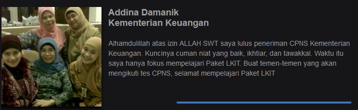Lulus CPNS Kementerian Keuangan