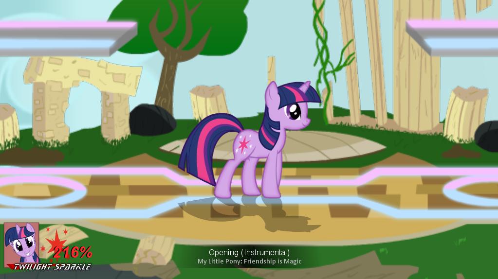 equestria daily super smash ponies   major graphics upgrade