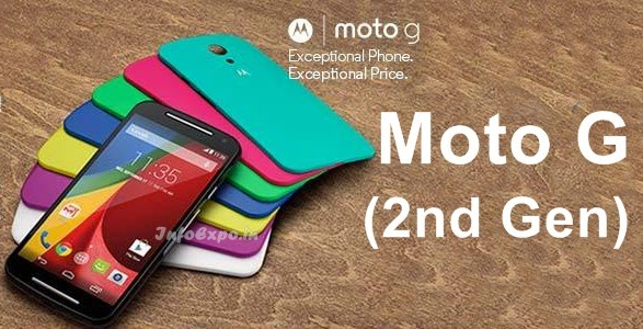 Moto G (2nd Gen) : 5-inch HD, Quad Core Android KitKat - Upgraded Moto G