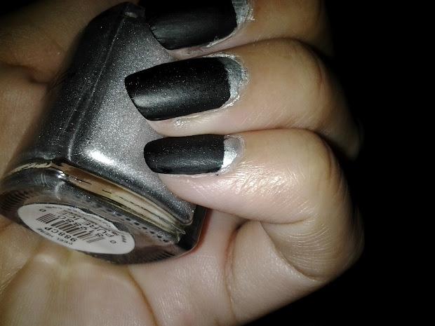 shanty's glamour metallic silver