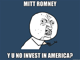 Blind Trust - n. What you need to vote for Mitt Romney