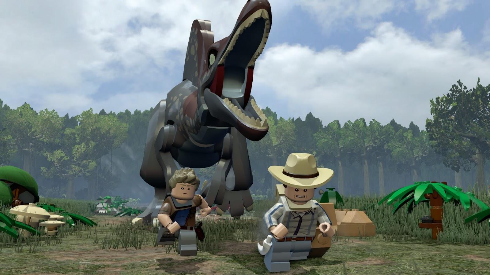 Lego jurassic world mac review chalgyr 39 s game room - Dinosaure jurassic world ...