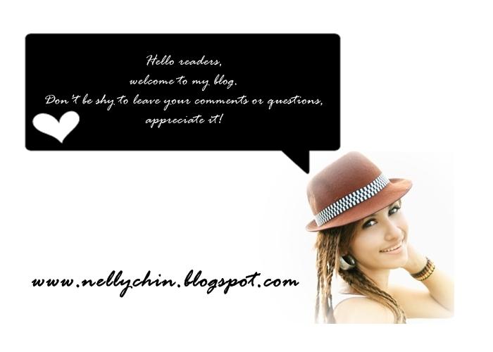 ♥ :  http://nellychin.blogspot.com/  : ♥