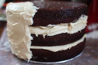 chocolate pound cake,sour cream frosting,sour cream cookies,sour cream chocolate frosting,chocolate raspberry cake