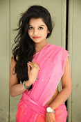 Bhavya Sri Photos in Pink Halfsaree-thumbnail-11