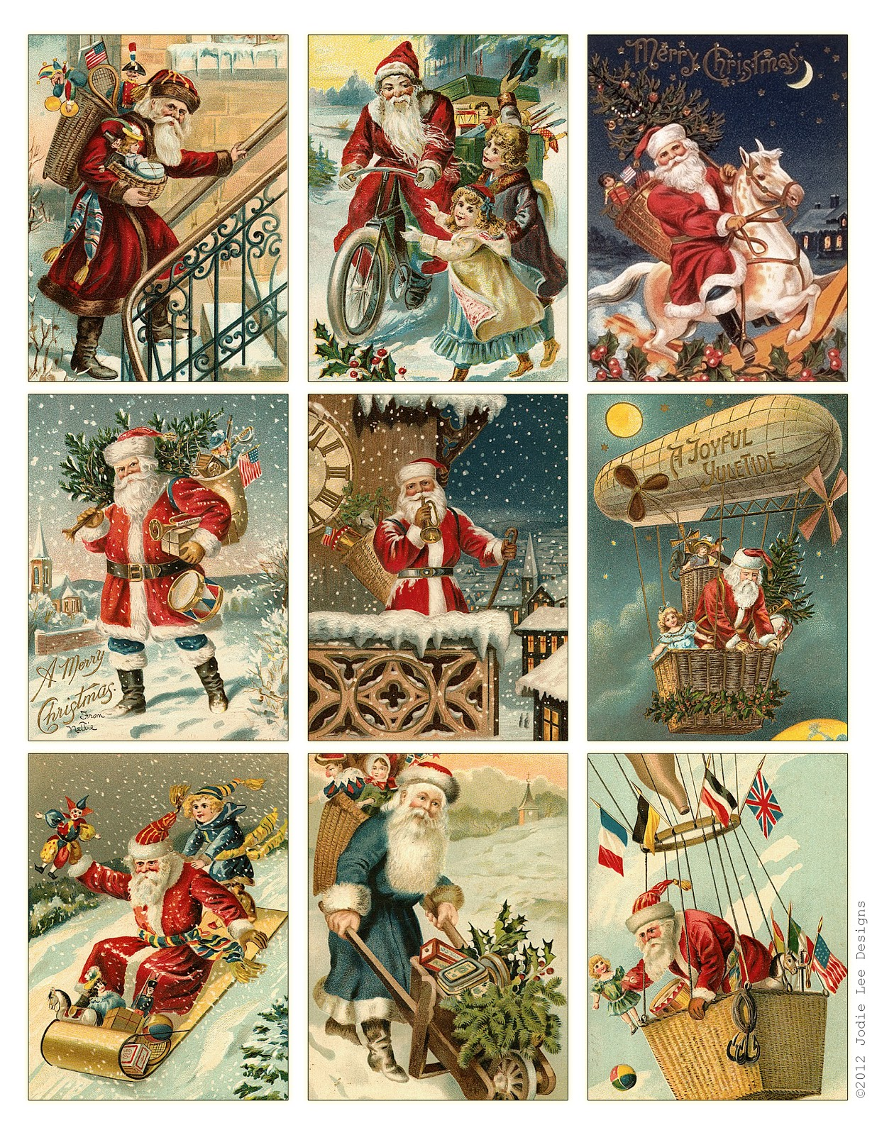 Christmas Toys Cards : Jodie lee designs days of christmas giveaways day