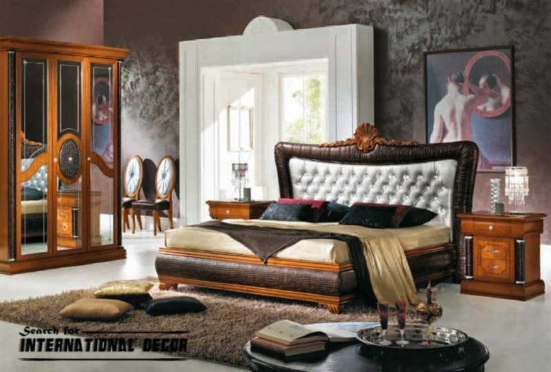 Luxury Italian bedroom and furniture in classic style - Interior ...