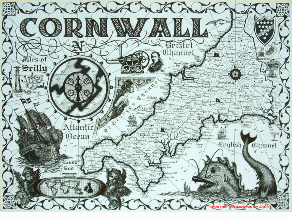 Cornwall map 2