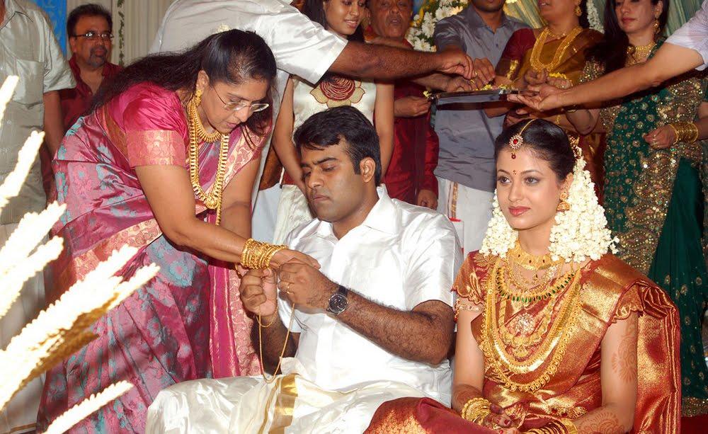 South Indian Actressmalayam Sridevika Wedding Jewellery
