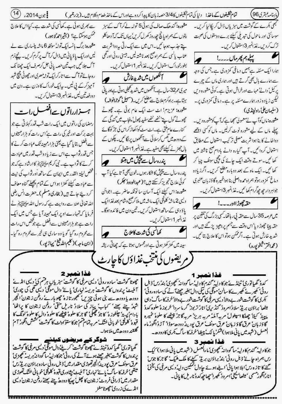 ubqari june 2014 page 14