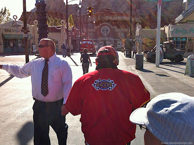 Cars Land Carsland DCA morning march Red Fire Engine tips