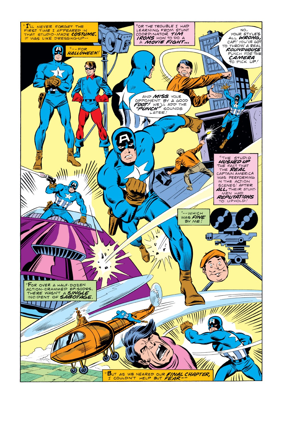 Captain America (1968) Issue #219 #133 - English 10