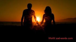 صور رومنسية اثناء الغروب