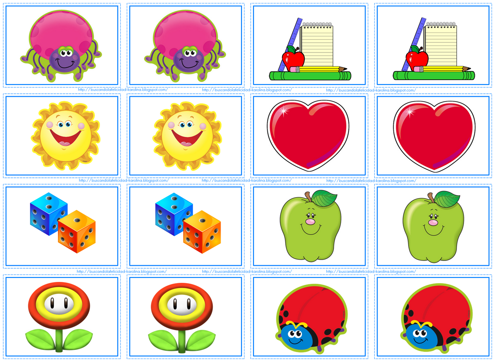 MEMORAMA | Juegos para aprender INGLES