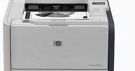 HP LaserJet P2055d drivers for Windows XP