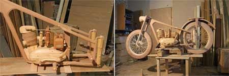 motor dari kayu IZH-49