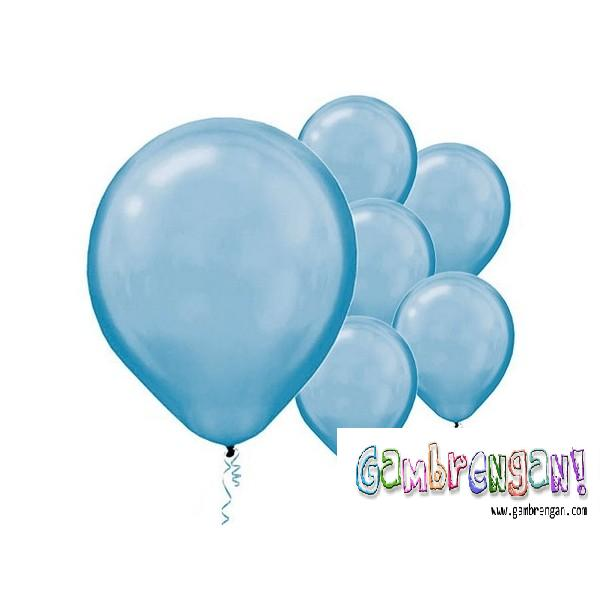 Balon Dekorasi Biru Muda
