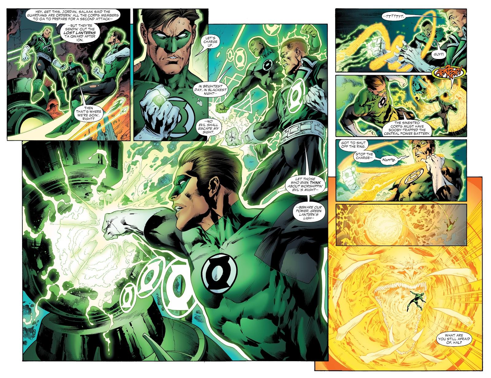 Green Lantern: The Sinestro Corps War Full #1 - English 61