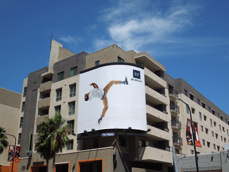 Gap Lil Buck billboard Hollywood