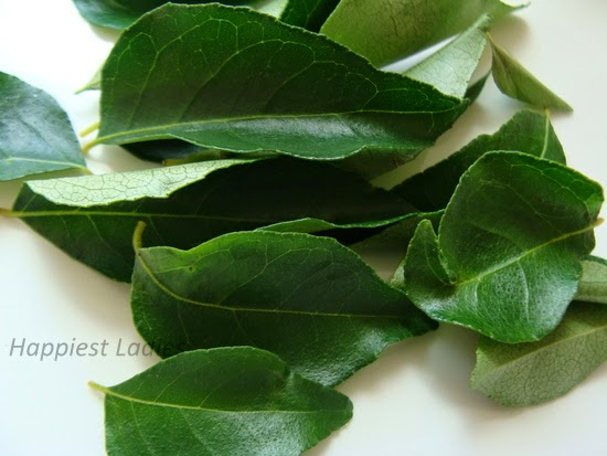 curry leaves hair pack