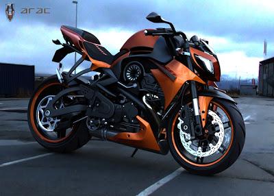 ARAC ZXS Motorcycle Marko Petrovic