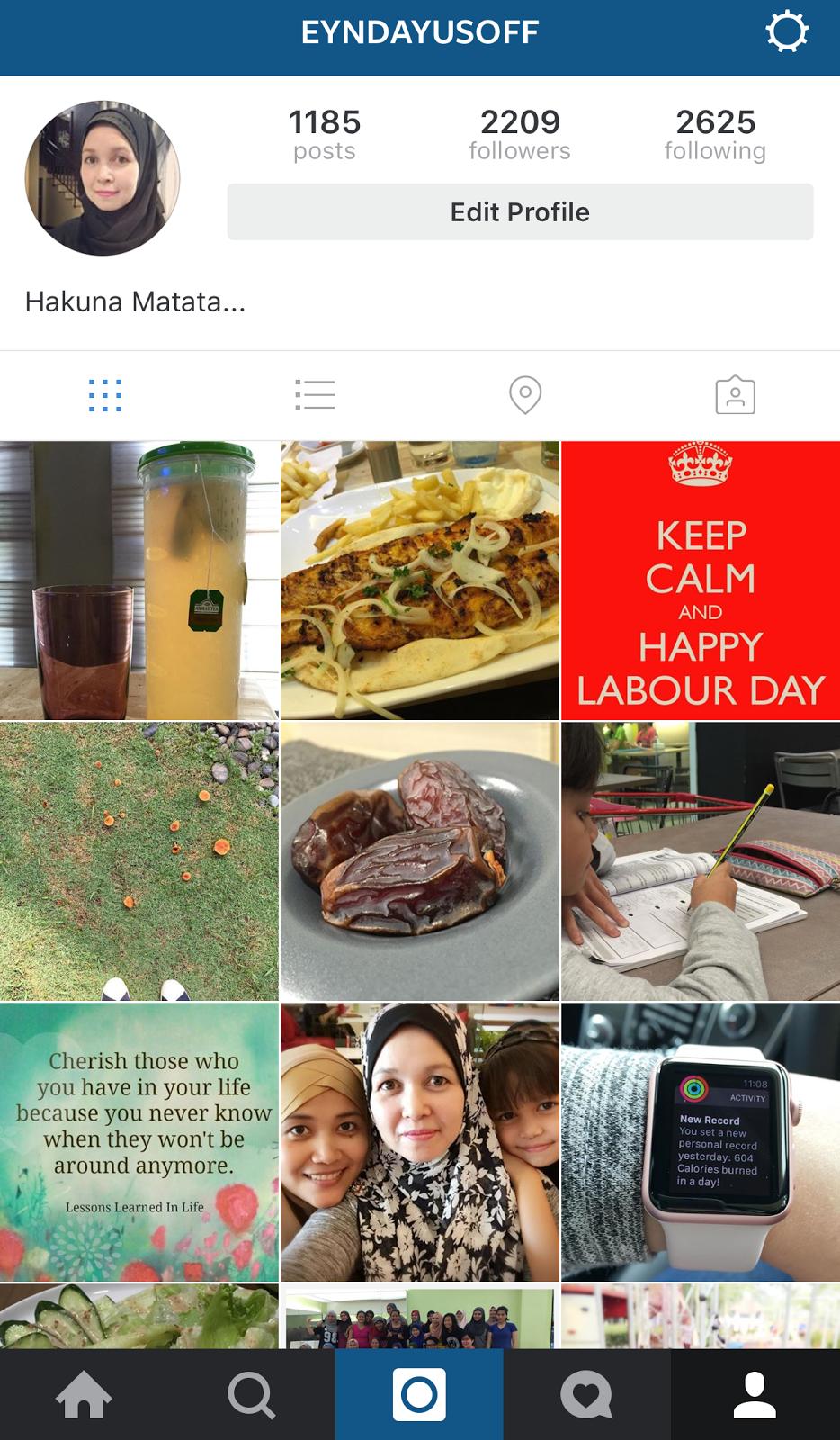 Eynda Di Instagram