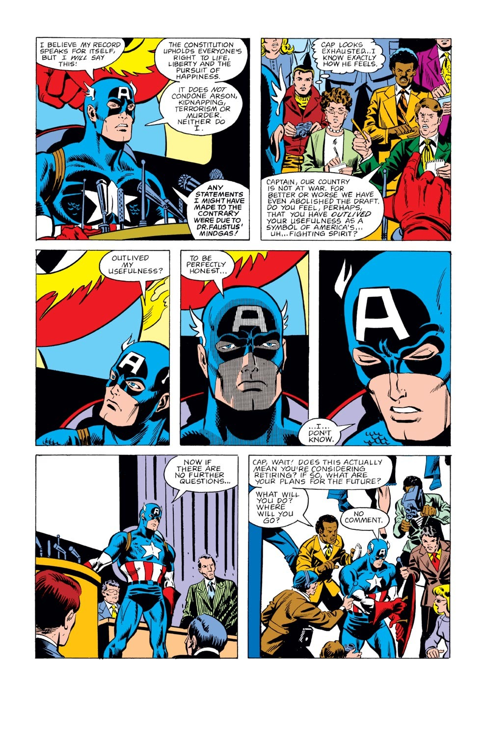 Captain America (1968) Issue #237 #152 - English 3