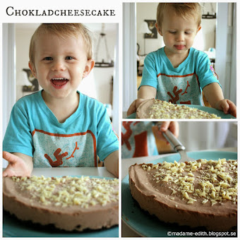 Chokladcheesecake på oreobotten