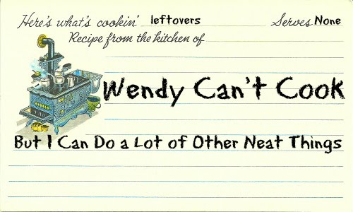 Wendy Can't Cook
