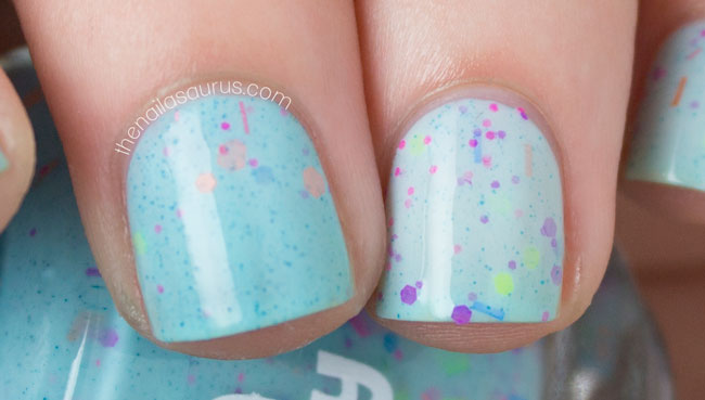 Polish Me Silly Get Breezy cool and warm swatch // The Nailasaurus