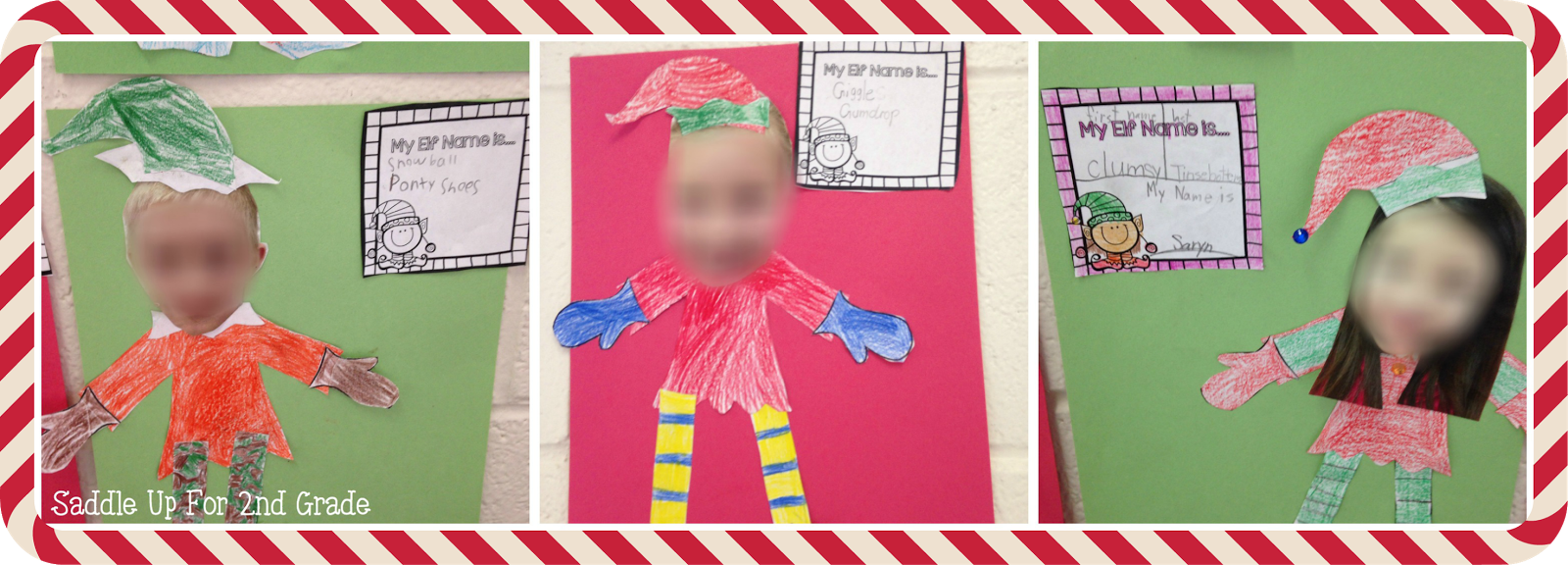 What's Your Elf Name FREEBIE by Saddle Up For 2nd Grade