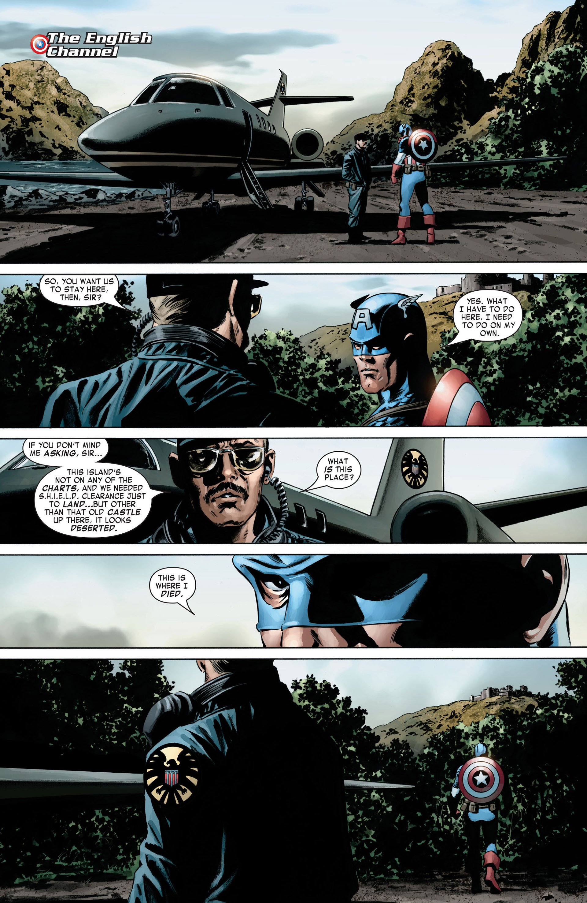 Captain America (2005) Issue #6 #6 - English 5