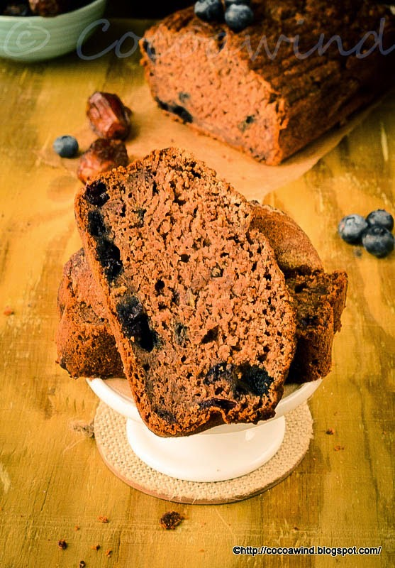 Whole wheat Date-Banana Bread - Eggless and No extra sugar added