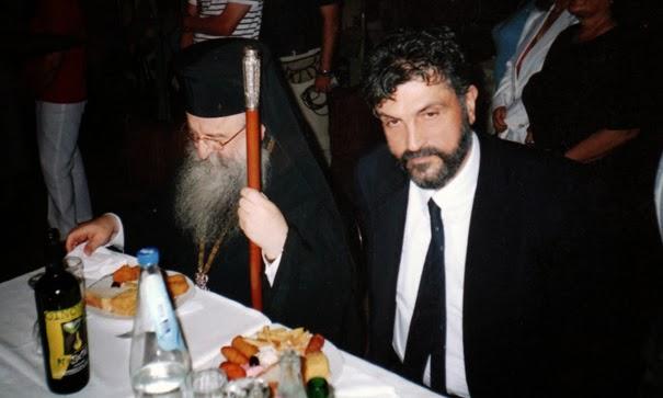 Σε γεύμα με τον Μητροπολίτη Θεσσαλονίκης κ.Άνθιμον