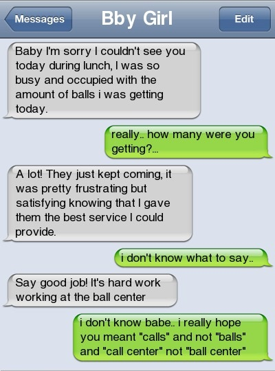 ifunny ball center text messages