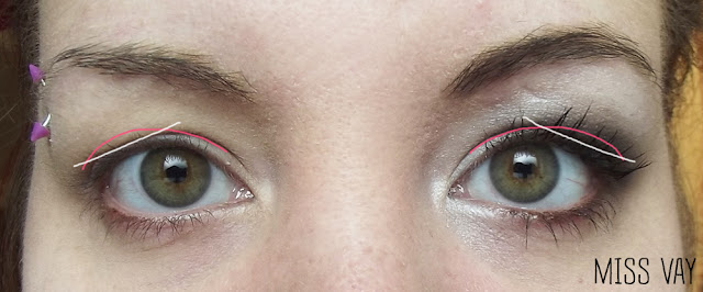 paupières tombantes maquillage