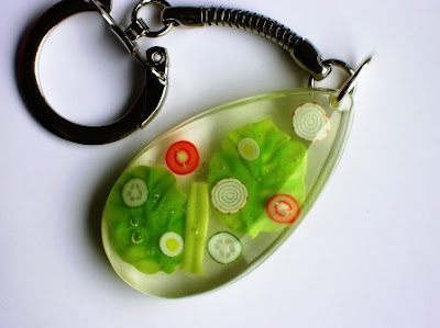 Salad Keyring