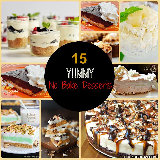 no bake recipes, desserts, easy dessert recipes