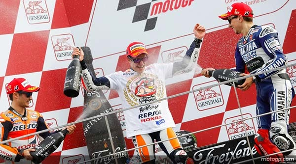 Marc Marquez Resmi Juara Dunia MotoGP 2013