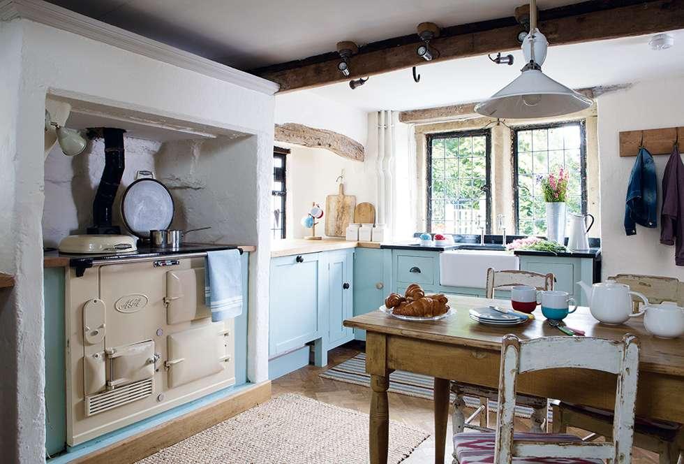 Interior] Casa de campo llena de hallazgos vintage – Virlova Style