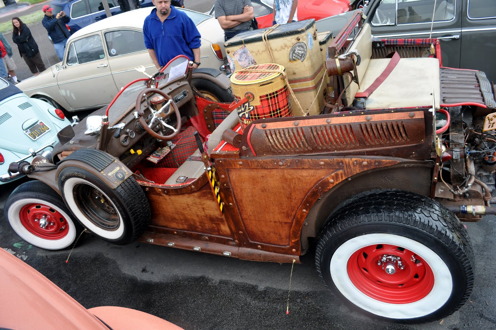 Just a car guy dennis has made a very unusual 1964 volksrod rat rod