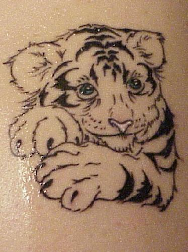 Wild tattoos tiger tattoos for men for White tiger tattoo