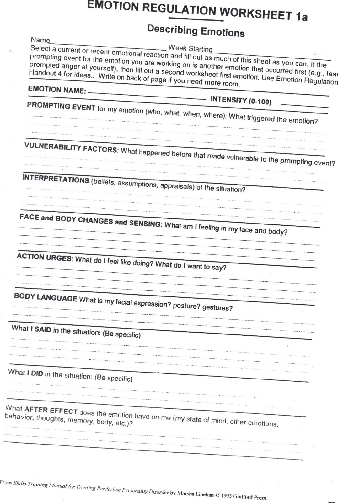 Worksheet Dbt Skills Worksheets worksheets emotion regulation worksheet laurenpsyk free healing from bpd borderline personality disorder blog sorting dbt worksheet