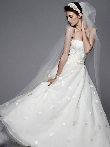 My wedding dress how to look slimmer in your wedding dress for Wedding dresses that make you look skinny