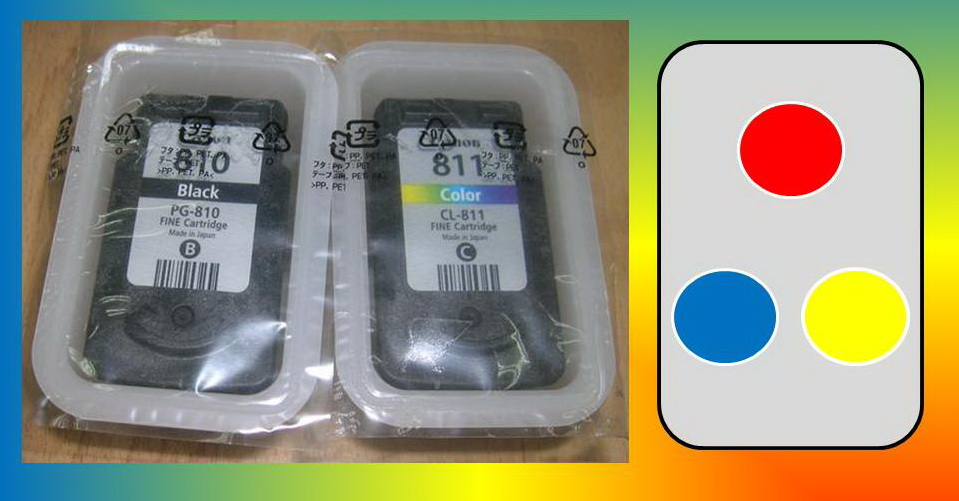 Posisi Warna Cartridge Printer Canon Pak Un
