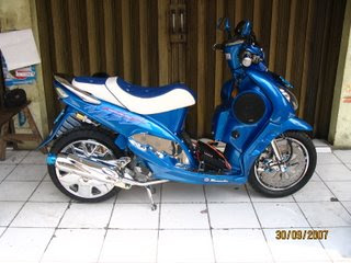 Modifikasi Motor Mio Sporty