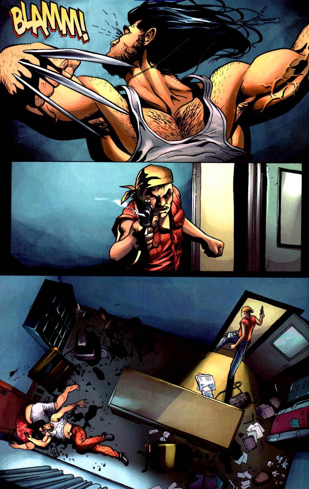 Read online Wolverine (2003) comic -  Issue #8 - 11