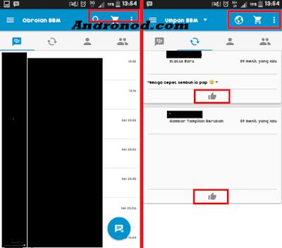 Download dan Fitur Apk BBM Official Versi 2.11.0.16 Terbaru