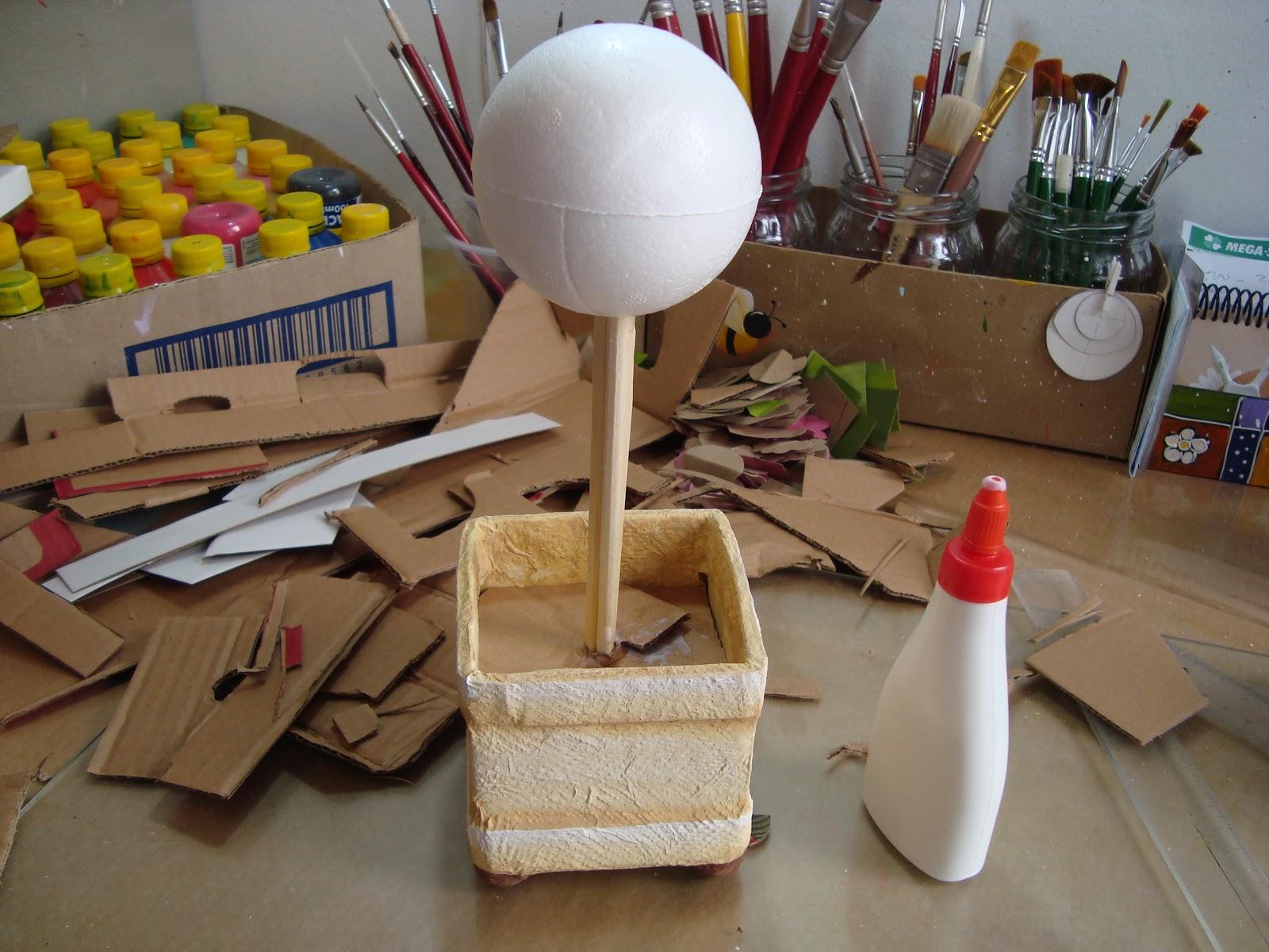 Как сделать топиарий в горшке
