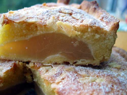 Cooking and recipes from a Nonna's Kitchen: Pear and Almond Tart